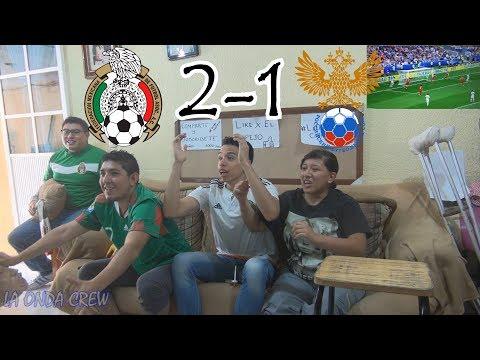 ¡A SU KAZAN! / México vs Rusia (2-1) / Copa Confederaciones Rusia 2017 / Reacciones