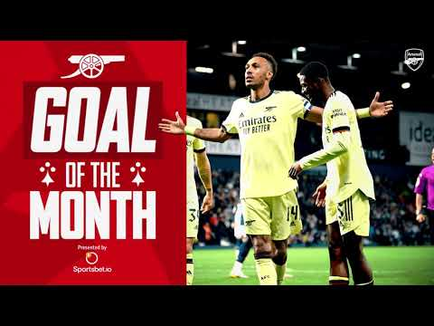 Who scored Arsenal's best goal in August?  |  Aubameyang, Iwabuchi, Saka, Miedema and more