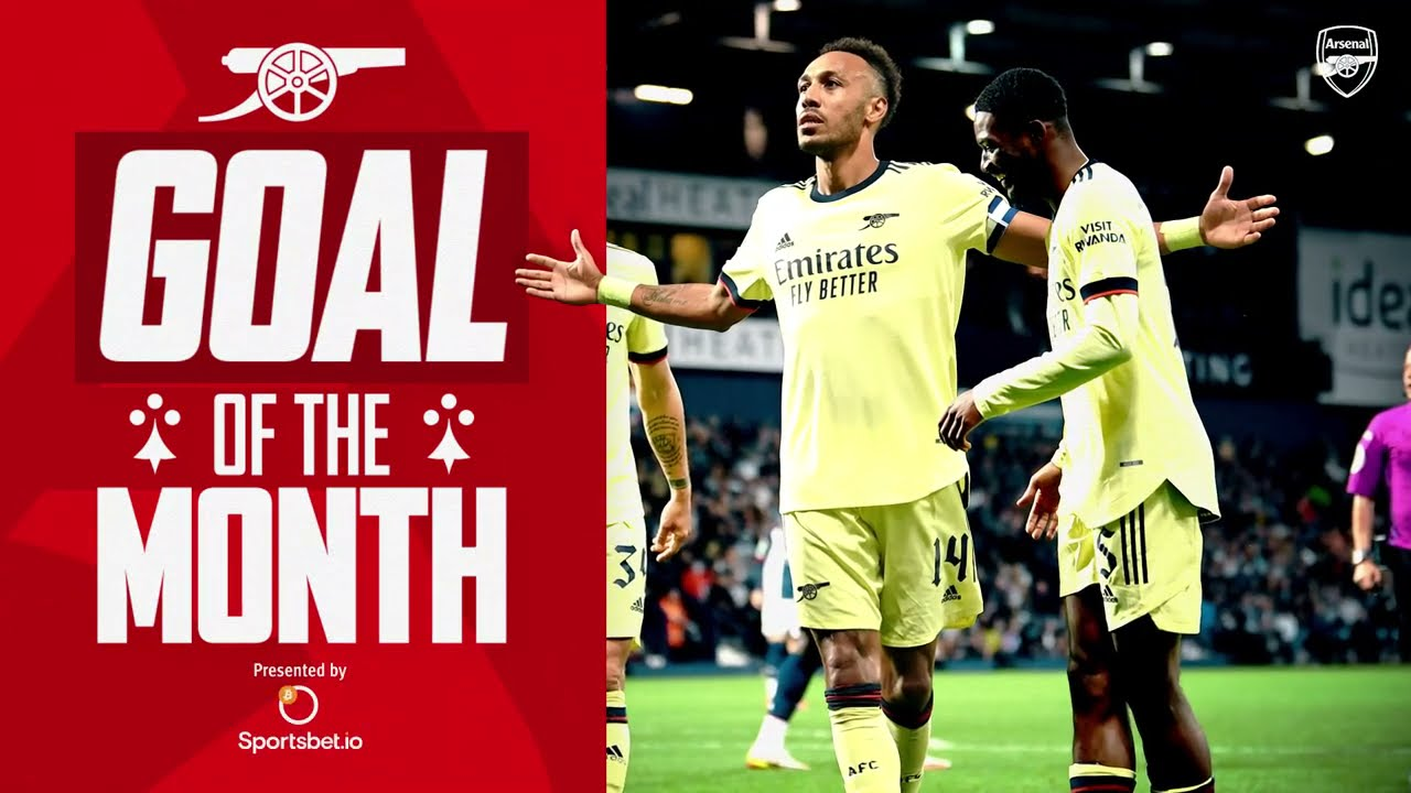 Who scored Arsenal's best goal in August?   Aubameyang, Iwabuchi, Saka, Miedema & more