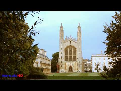 Cambridge, England: King's College Chapel and Some Punting on the River Cam