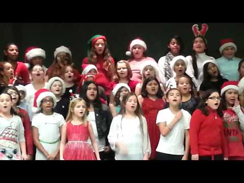 Clover Creek Elementary School choir