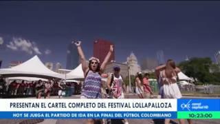stos son los artistas que estarán en el lollapalooza colombia 2016