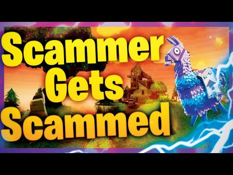 Fortnite Scammer gets scammed but wait (cries)