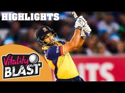 Lancashire Lightning v Essex Eagles | Bopara The Hero For Essex! | Vitality Blast 2019 - Highlights