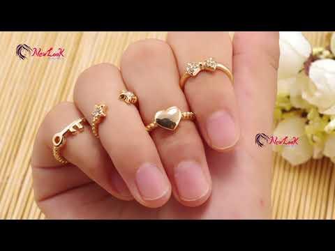 Name Ring/Custom initial Ring/Gold initial Ring designs ~ New Look
