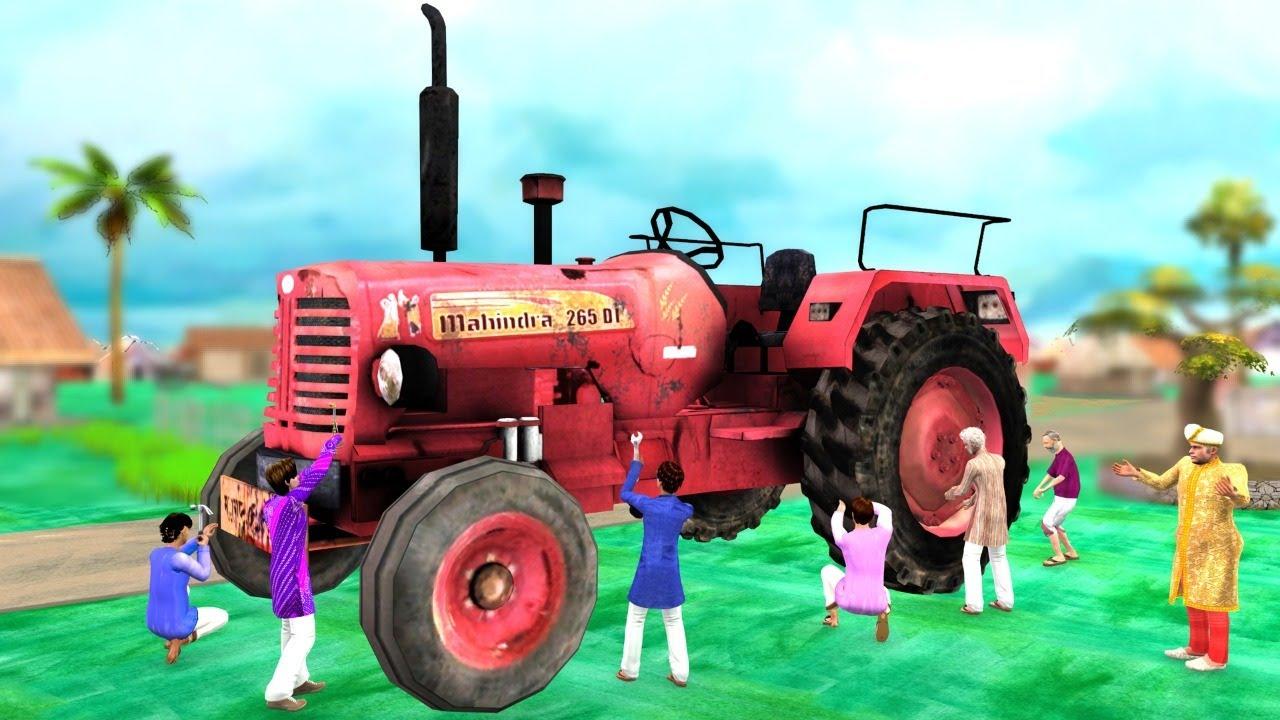 Download विशालकाय ट्रैक्टर लिलिपुट मैकेनिक Giant Tractor Lilliput Mechanic Hindi Kahaniya Funny Comedy Video