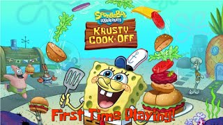 Playing Krusty Cook-Off for the First Time!