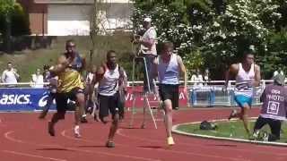 100M 10''02 (-0.7) Jimmy VICAUT & Christophe LEMAITRE - Interclubs élites 2015 Tourcoing