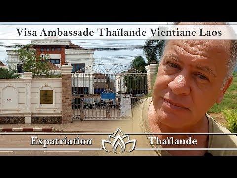 visa ambassade thailande vientiane laos