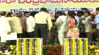 Felicitation to Honorable AP CM by VRA Association In View of Salary Hike to VRA's in AP Live