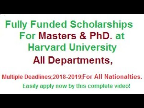 harvard-university-fully-funded-scholarships-for-masters-&-phd-students-for-all-world-easily-apply.
