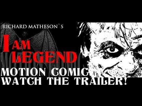 "Motion Comic Teaser: ""I Am Legend"" by Richard Matheson"
