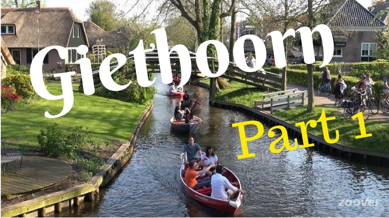 Giethoorn Karte.Giethoorn The Netherlands Travel Tour Part1 Venice Of Holland Walking Cycling Gopro