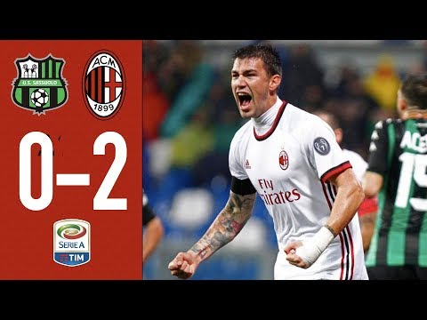 Romagnoli-Suso and AC Milan hit Sassuolo for two