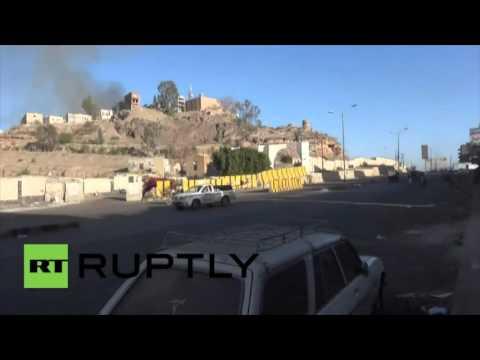 La coalition saoudienne bombarde Sanaa, les bâtiments civils aussi