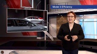 Model 3 Efficiency, Solid State Batteries, LEAF Spyshots,  -- TEN Future Car News 28/7/2017