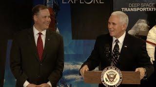 Vice President Pence Visits NASA Headquarters