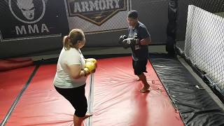 The GymLife:  Plus Size  Boxing/Sparring