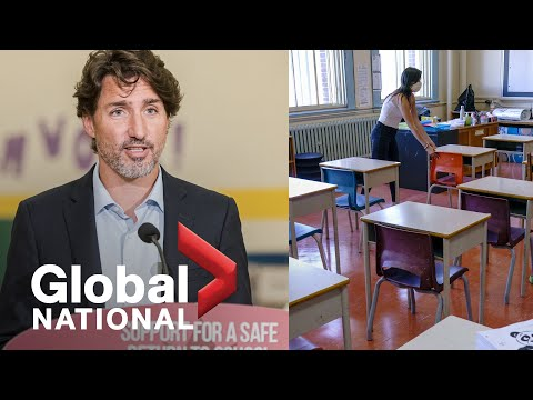 Global National: Aug. 26, 2020 | Feds shell out billions to help Canada's schools reopen