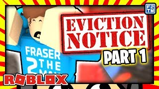 Roblox Eviction Notice (Part 1) - Don't Let Lana Win This! Teaming Up With A Bacon Hair!!!