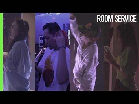 룸서비스 녹음 현장 (더 콰이엇, 키드밀리, MOON, 유라) [End]