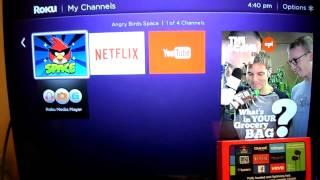 Review Roku 3 HD TV HDTV Streaming Media Player Netflix Hulu Amazon Crackle Crunchyroll