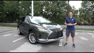 Is the 2020 Lexus RX 350L new and improved ENOUGH?