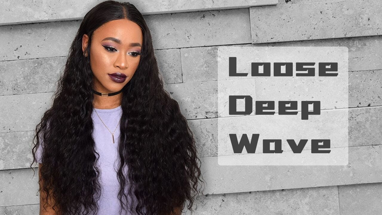 Brazilian Loose Deep Weave Install Sew A Wig Using Bundles