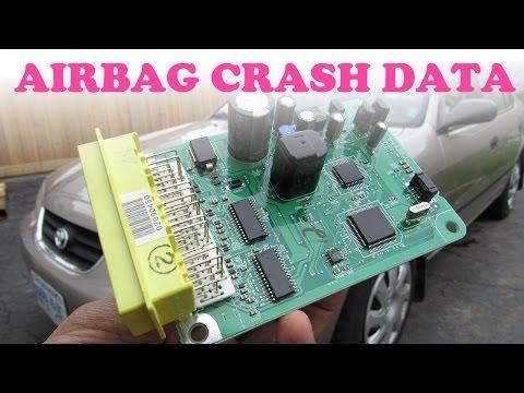 Airbag Crash Data Reset