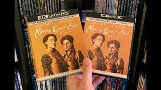 Mary Queen of Scots 4K BLU RAY REVIEW + Unboxing