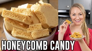 How to Make Honey Comb Candy