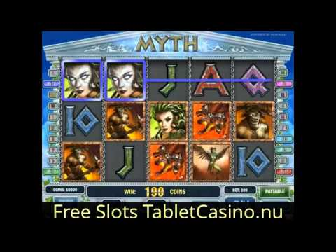 Myth Slot For Mobile Casino Platform Like IPad And IPhone Or Tablet