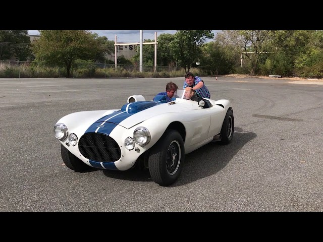 PCA member, Ted Shaw visits the Simeone Museum, running Cunningham C-4R