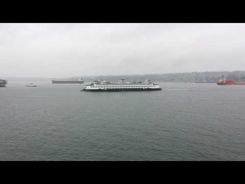 Puget Sound marine traffic activity