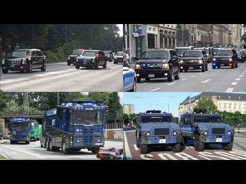 G20 Gipfel Hamburg - Einsatzfahrten Feuerwehr/Rettungsdienst/Polizei bei Ausschreitungen & Krawallen