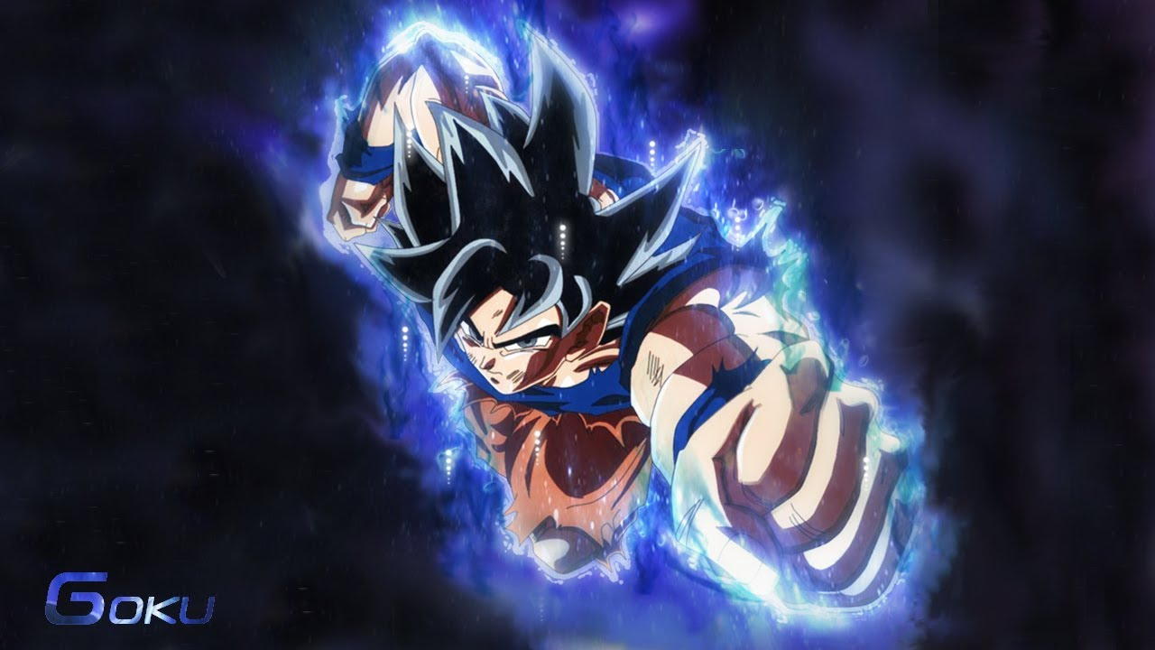 Making Goku Ultra Instinct Aura Wallpaper Speed Art
