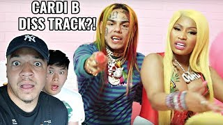 """FEFE"" - 6ix9ine, Nicki Minaj (Official Music Video) CARDI B DISS TRACK!?"