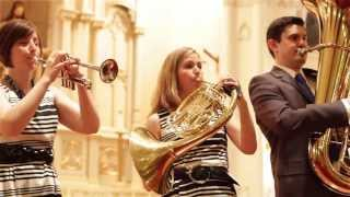Monteverdi: Deus in Adjutorium (from Vespers) - Alliance Brass Quintet