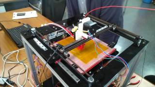 fdm 3d printer h bot test