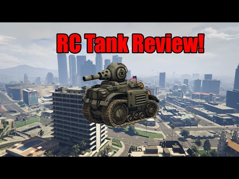 GTA Online Invade And Persuade RC Tank Review!