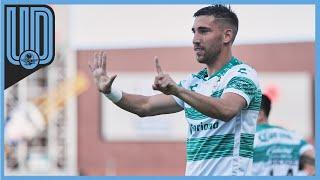 Gorriarán, de 25 años, fue el héroe de la victoria de Santos el pasado domingo ante el Guadalajara, al convertir los dos goles en el triunfo por 2-0, en la Jornada 2 del Guardianes 2020