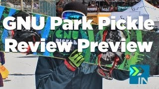 GNU Park Pickle Review Preview Tyler Board Insiders - GNU Snowboard Park Pickle