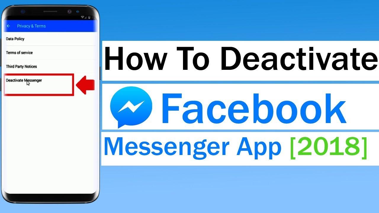 Deactivate apps