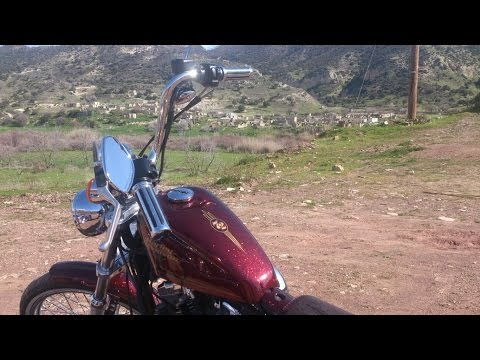 Harley Davidson, motorcycle ride, to Extreme view cafe, Prastio, Cyprus.