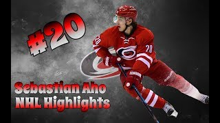 Sebastian Aho | Hurricane Highlights | 2015-2018