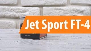 Распаковка фитнес-браслета Jet Sport FT-4/ Unboxing Jet Sport FT-4