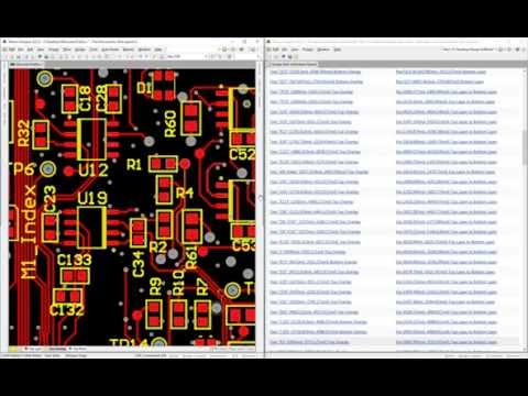 Silkscreen clear Altium designer 15 rule check - YouTube