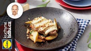 Vepřová pečeně s kozím sýrem a hruškou - Roman Paulus - RECEPTY KUCHYNĚ LIDLU