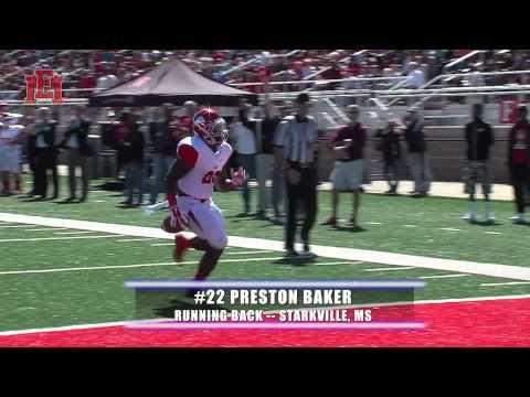 EMCC Running Back Preston Baker