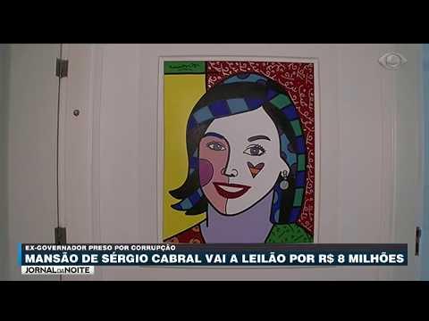 Mansão De Cabral Vai A Leilão Por R$ 8 Milhões